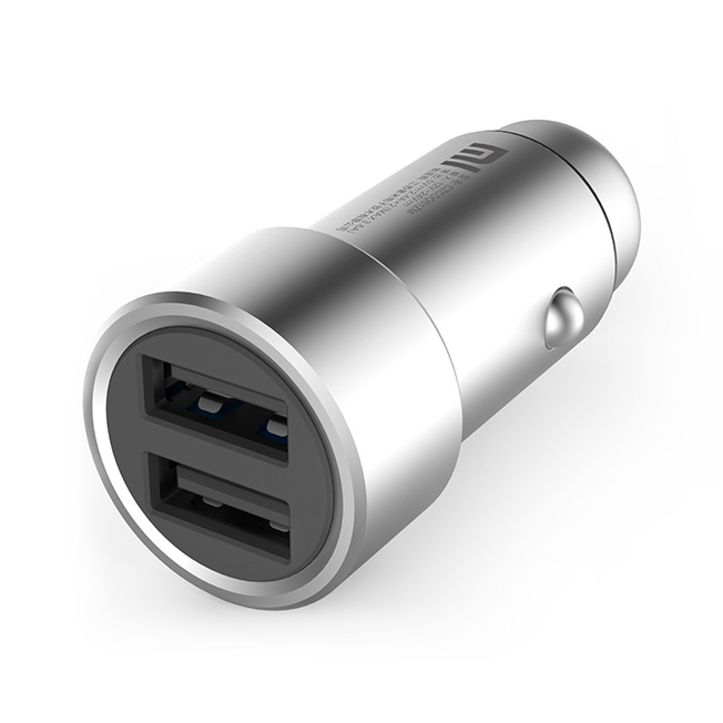 Mi Car Charger silver 3